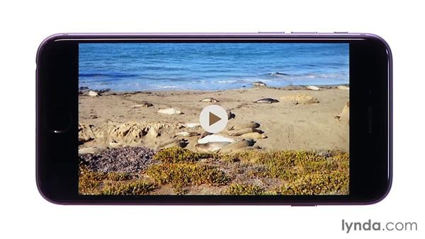 Viewing and editing video: iOS 8: iPhone and iPad Essential Training