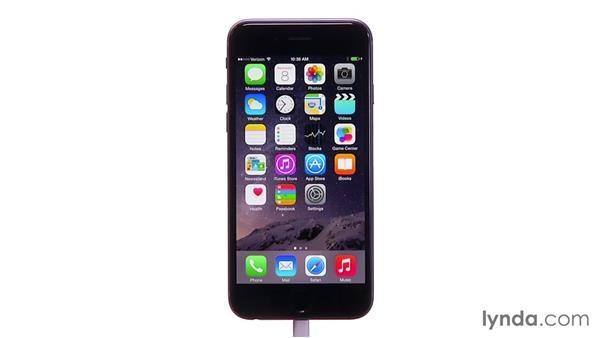 Keeping Siri listening: iOS 8: iPhone and iPad Essential Training