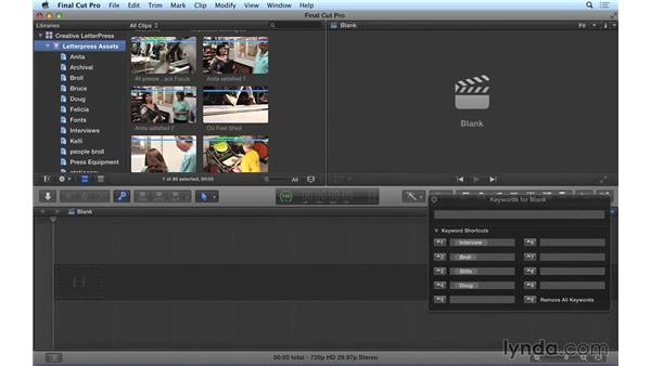 Using search and filter tools in Final Cut Pro X: Video Post Tips Weekly