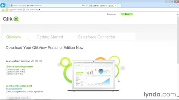 Downloading and installing QlikView