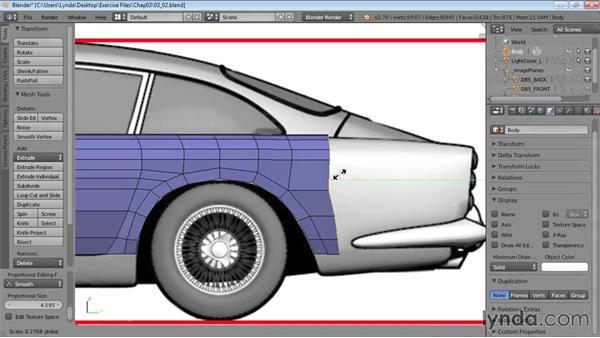Welcome: Vehicle Modeling in Blender