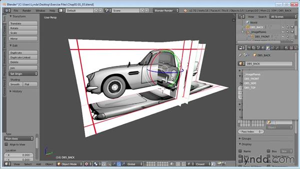 Setting up Blender for modeling: Vehicle Modeling in Blender