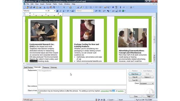 Using Grammatik: WordPerfect Office X4 Essential Training