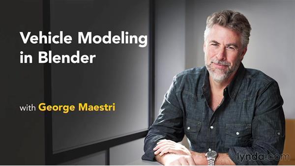Next steps: Vehicle Modeling in Blender