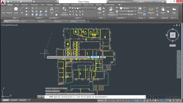 Bringing all project data together: 3D Architectural Modeling with AutoCAD