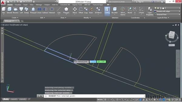Modeling curved headers: 3D Architectural Modeling with AutoCAD