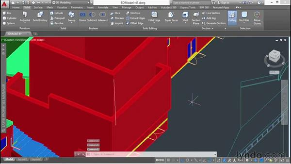 Constructing the first wraparound roof: 3D Architectural Modeling with AutoCAD