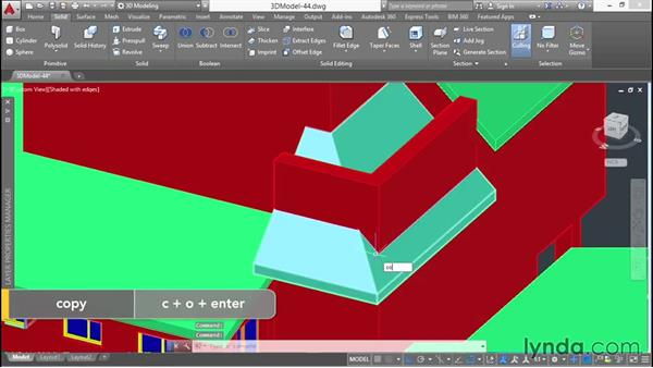 Filling in missing wall volumes: 3D Architectural Modeling with AutoCAD
