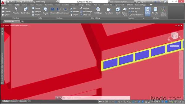 Building clerestory windows: 3D Architectural Modeling with AutoCAD