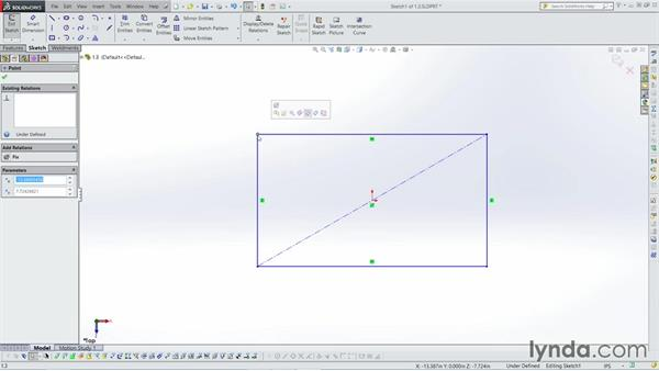 Sketching in 2D: Weldments with SOLIDWORKS