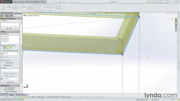 Flipping and mirroring: Weldments with SOLIDWORKS