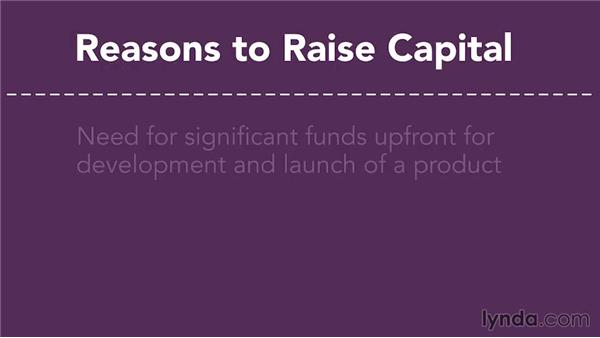 Why do companies look for capital?: Raising Startup Capital