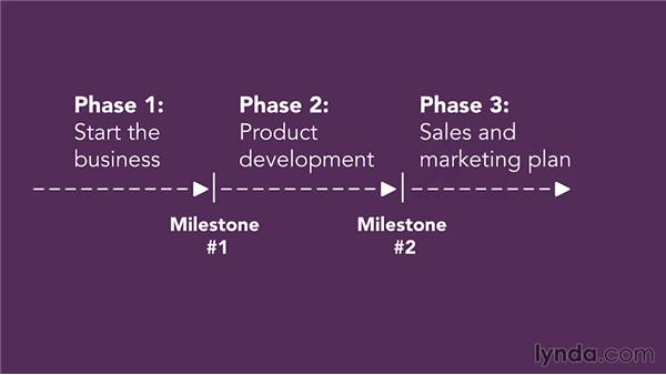 Organizing milestones: Raising Startup Capital