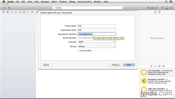 Creating an Xcode project: Programming for Non-Programmers: iOS 8