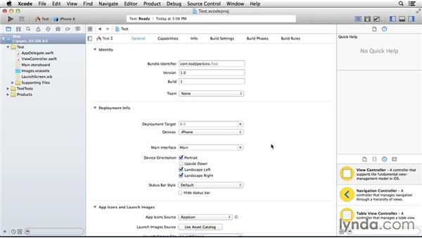 Understanding the Xcode interface: Programming for Non-Programmers: iOS 8