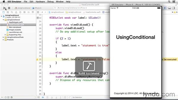 Using conditional statements: Programming for Non-Programmers: iOS 8