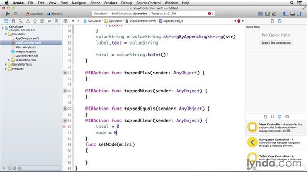 Making the Clear button clear all values: Programming for Non-Programmers: iOS 8