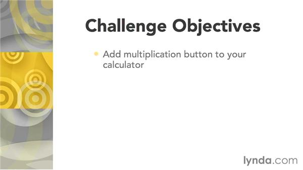 Challenge: Multiplication button: Programming for Non-Programmers: iOS 8