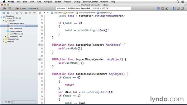 Solution: Multiplication button: Programming for Non-Programmers: iOS 8