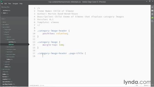 Adding style to the category image display: WordPress Developer Tips: Adding Category Images