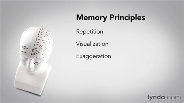 Memory principles: Speed Reading Fundamentals