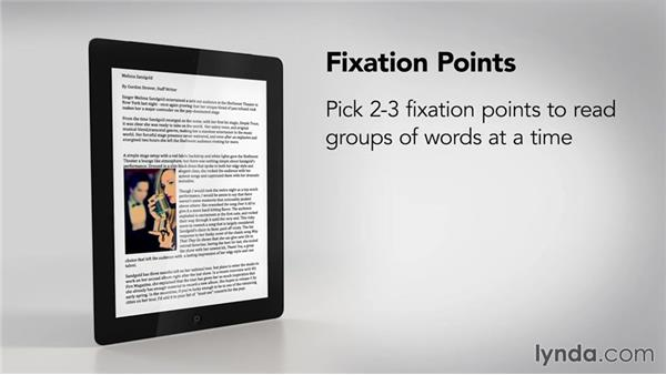 Tips for reading on tablets: Speed Reading Fundamentals