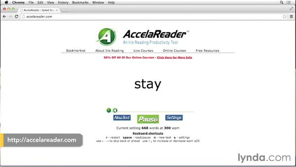 Reading faster on the computer: Top 5 Speed Reading Tips