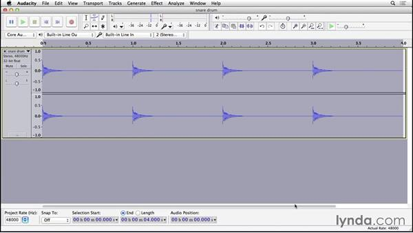 Applying EQ to improve recordings: Cleaning and Repairing Audio with Audacity