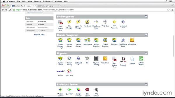 Administering sites: Web Design Fundamentals