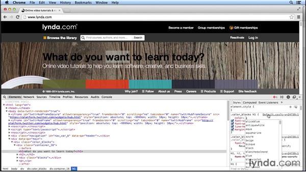 Testing tools: Web Design Fundamentals