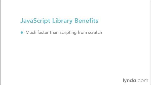 JavaScript libraries: Web Design Fundamentals