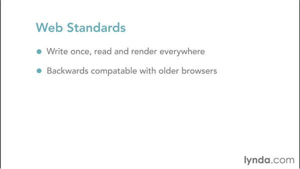 Standards and accessibility: Web Design Fundamentals
