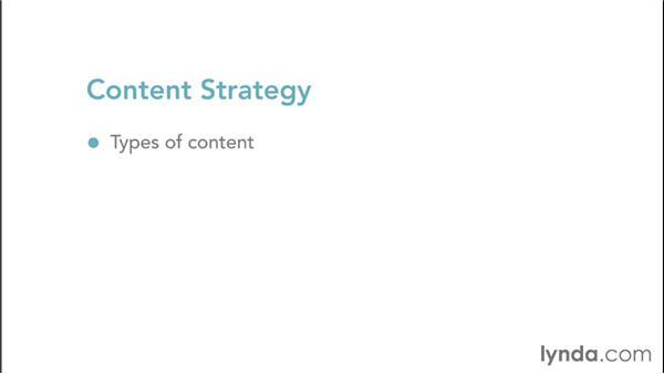 The importance of content: Web Design Fundamentals