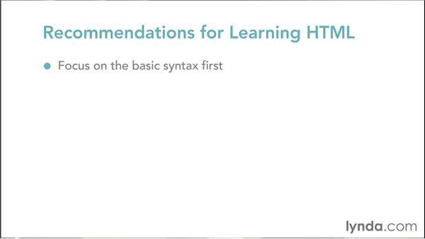 Learning HTML: Web Design Fundamentals