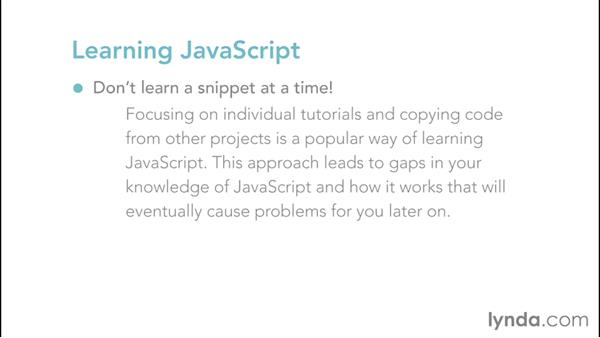 Learning JavaScript: Web Design Fundamentals