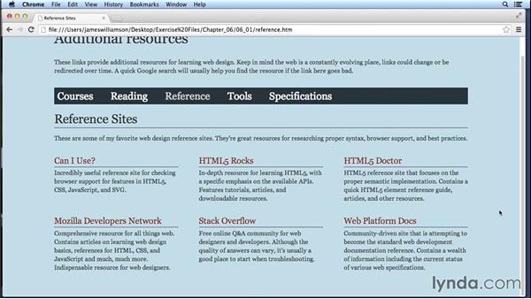 Additional resources: Web Design Fundamentals
