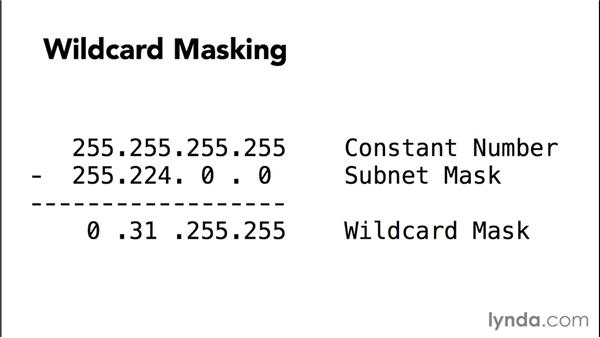 Exploring wildcard masking: Advanced Topics in Cisco Routing: RIPv2, EIGRP, and OSPF