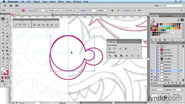 Easy vector build methods: Drawing Vector Graphics: Tribal Illustration