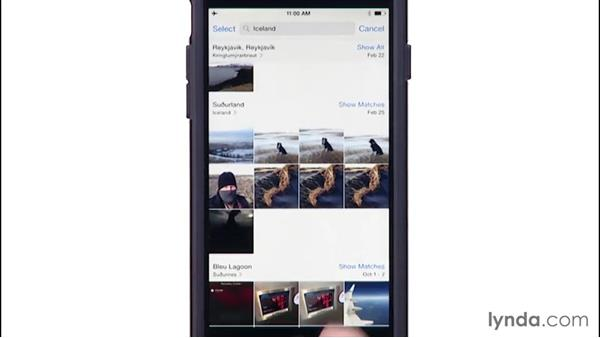Searching for photos: iPhone and iPad Photography with iOS 8