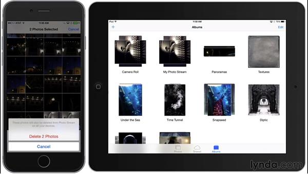 Syncing via My Photo Stream: iPhone and iPad Photography with iOS 8