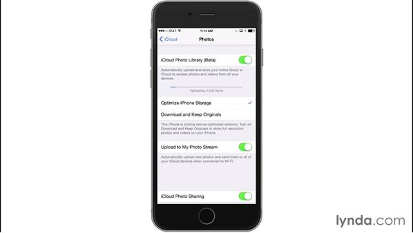 Using the iCloud Photo Library (beta): iPhone and iPad Photography with iOS 8