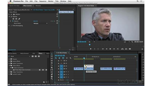 Using blend modes to correct overexposure in Premiere Pro: Video Post Tips Weekly