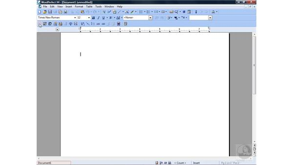 Using the Legal toolbar: WordPerfect Office X4 Essential Training