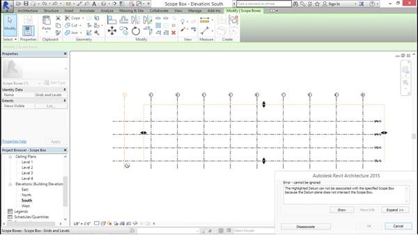 Understanding scope boxes: Creating Revit Templates: Annotation