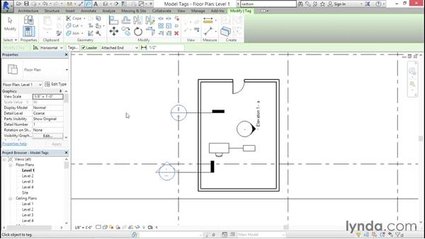 Model object tags: Creating Revit Templates: Annotation