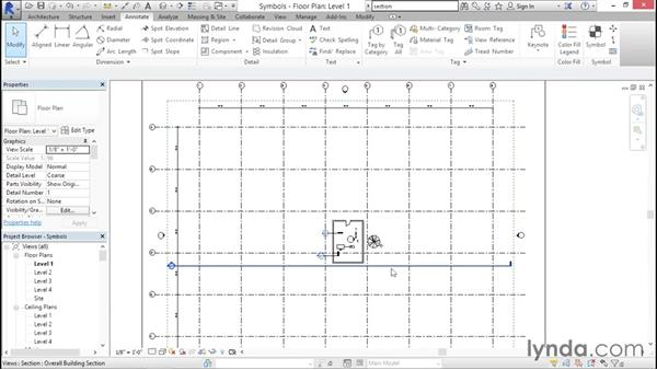 Using general symbols: Creating Revit Templates: Annotation