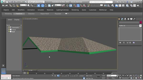Mapping shingles and testing using the Daylight system: 3D Textures: Shingles & Siding