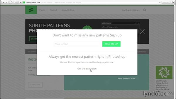 How to find patterns for your web backgrounds: Creative Quick Tips