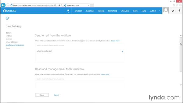 Managing general user settings: Administration for Cloud-Based Office 365
