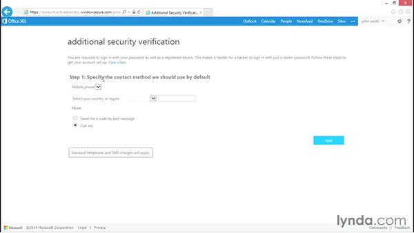Implementing multifactor authentication: Administration for Cloud-Based Office 365